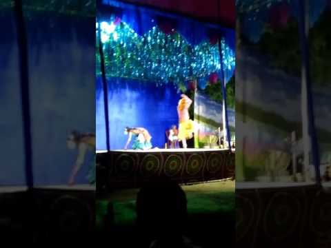 Chhau dance at bhanderisai - seraikela