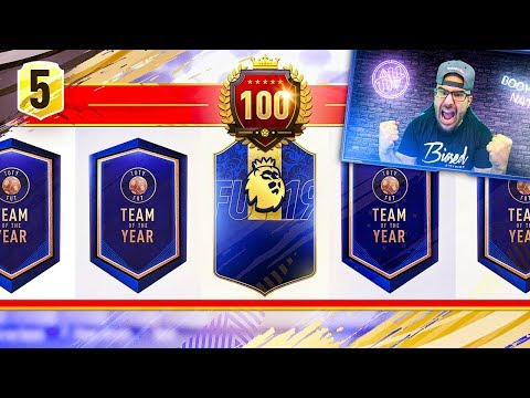 WOW THIS EPL SQUAD IS AMAZING!! FIFA 19 Ultimate Team Draft #05