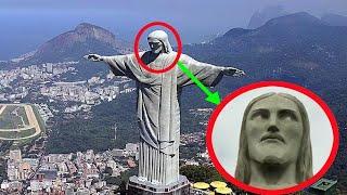 5 ESTATUAS DE JESÚS MOVIENDOSE Y CAPTADAS EN VIDEO.