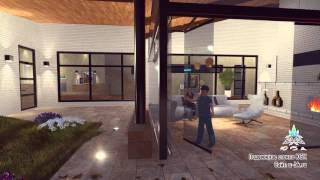 видео Широкие раздвижные двери