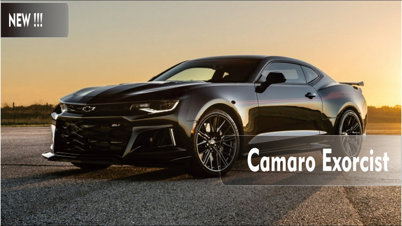 new the exorcist 1000 hp zl1 camaro by hennessey youtube rh youtube com