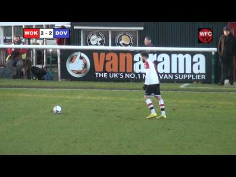 Woking 3 - 3 Dover Athletic (Match Highlights)