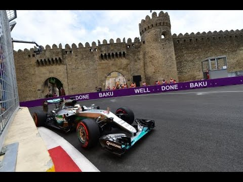 Formula 1 F1 European Grand Prix Baku 2016 | Qualifying Full Replay |