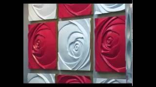 Обзор декоративных панелей для облицовки стен.