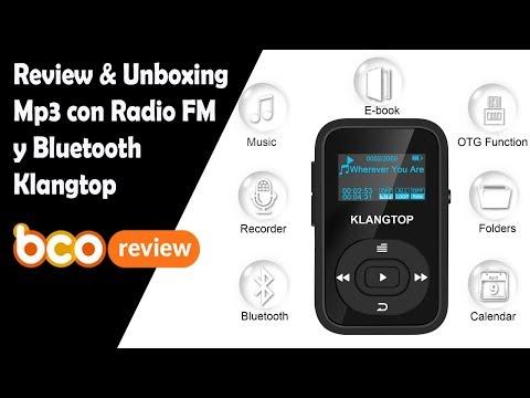 Unboxing&Review Mp3 Bluetooth Radio FM Klangtop