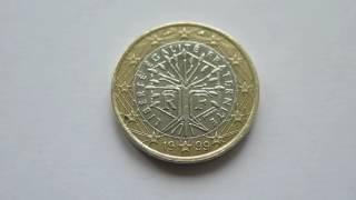 1 Euro Coin :: France 1999