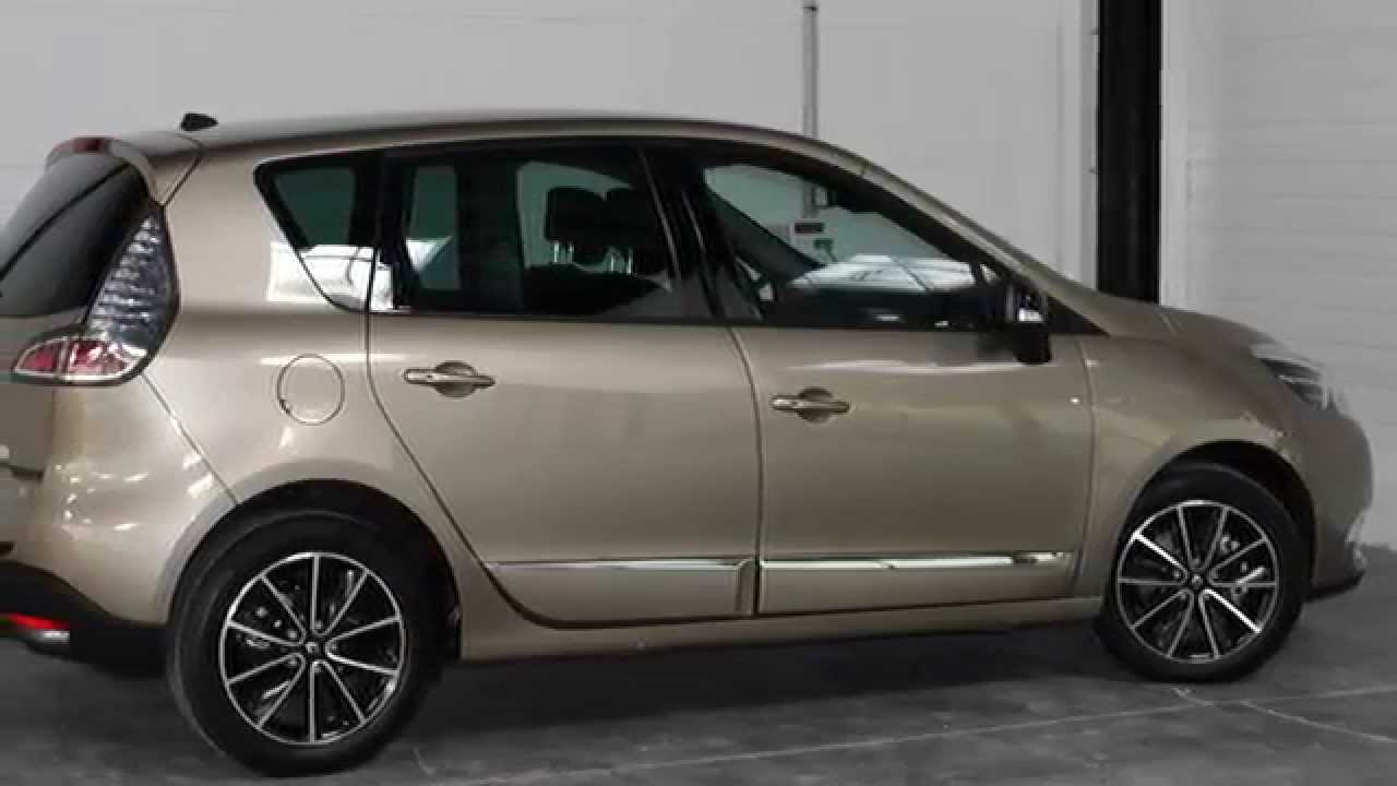 achat de renault scenic bose edition beige dune dci 130. Black Bedroom Furniture Sets. Home Design Ideas