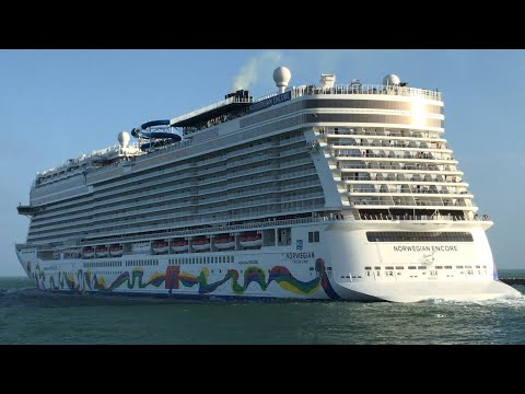 Norwegian and Royal Caribbean Sail Away from Miami