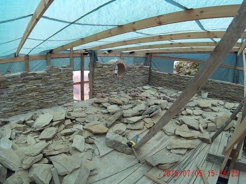 Технология строительства домов из природного камня. Часть 1