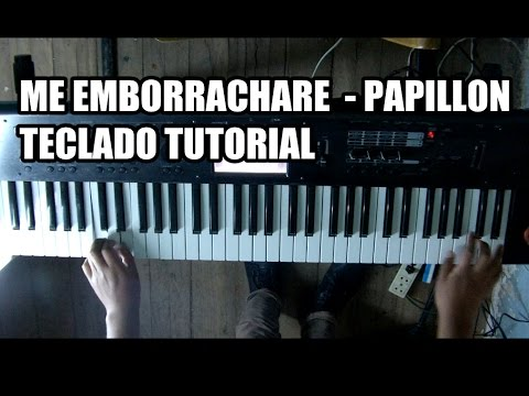 Me emborrachare papillon tutorial en teclado hd youtube for Tutorial papillon