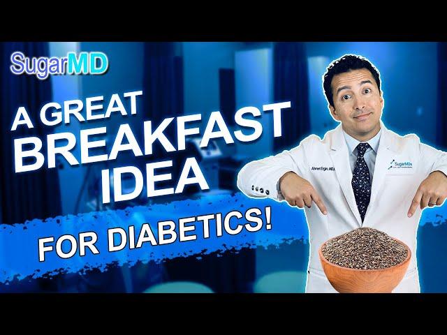 A Great Diabetic Breakfast Idea: Chia Seed Pudding vs Oatmeal!