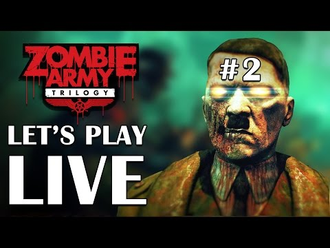 Zombie Army Trilogy #2 - Platform32 Let's Play LIVE