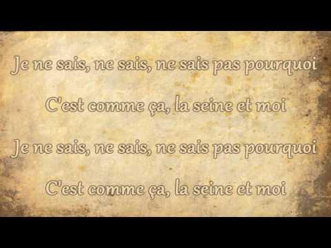 Vanessa Paradis - La Seine (Lyrics)