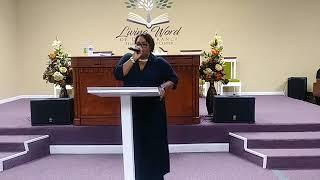 Living Word of Deliverance Temple   Living Life Complete   Bishop David Tompkins Sr Pastor   Februar