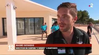 France 2 - JT de 13h - Village vacances Martigues - TourisTra Vacances