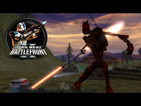 Star Wars Battlefront II Mods (PC) HD: Saga of the 607th - Kashyyyk: 607th Defense