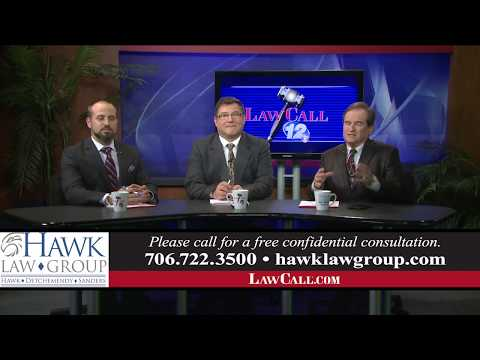 1/21/2018 - Does Bankruptcy Hurt Your Settlement? - Augusta, GA - LawCall - Legal Videos
