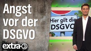 Angst vor der DSGVO