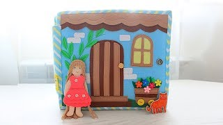 Quiet book dollhouse. Great book for a girl. Very beautiful Dollhouse book!!!!