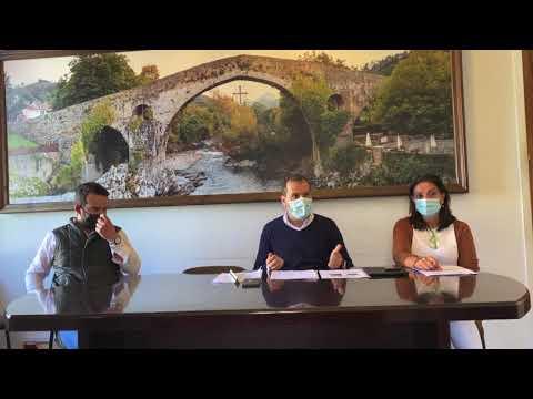 VÍDEO El alcalde de Cangas de Onís anuncia que habrá Feriona en Corao, sólo para profesionales
