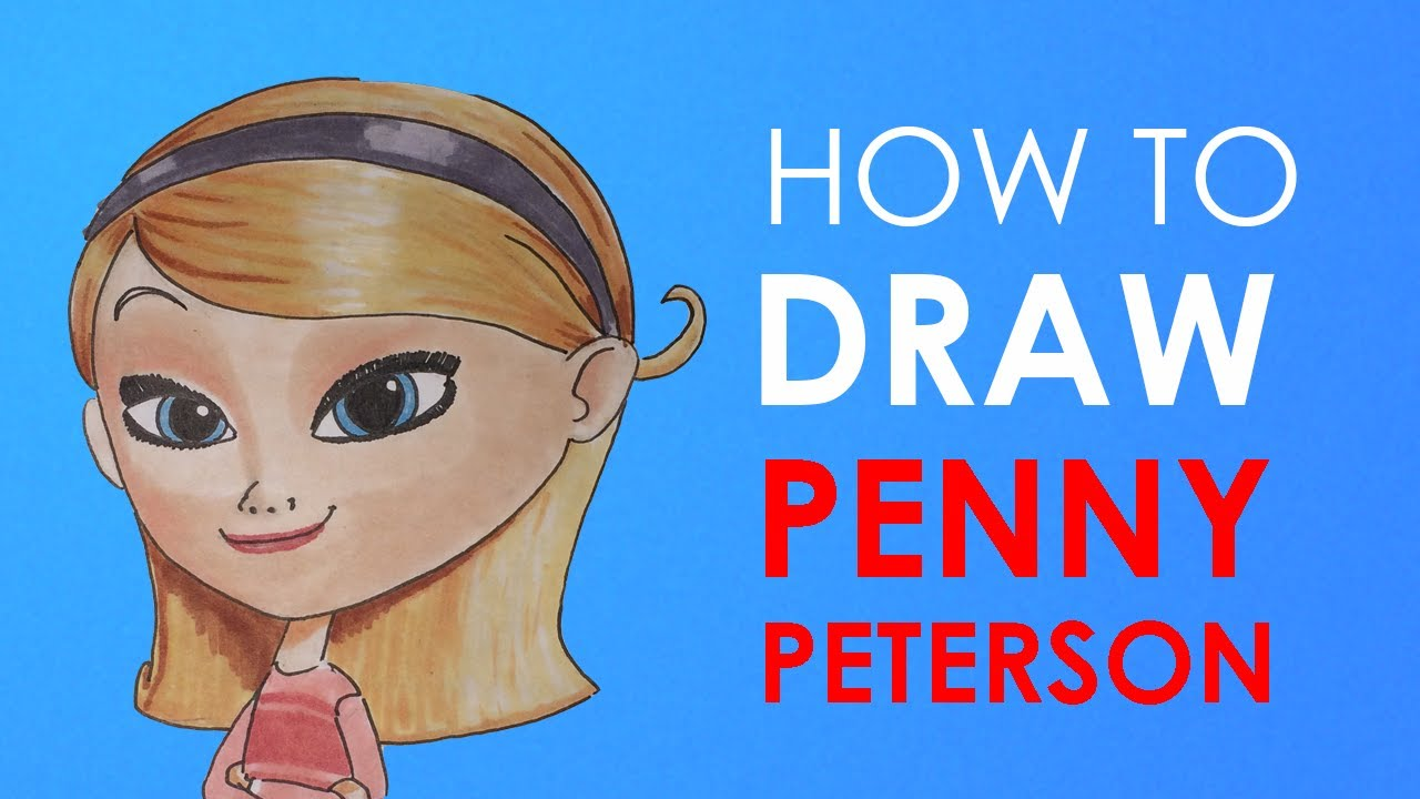 How to draw penny mr peabody sherman