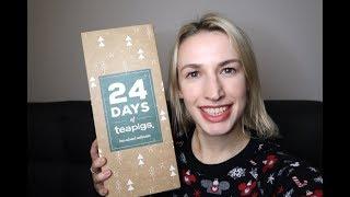 TEAPIGS Tea Advent Calendar 2019 Unboxing Review