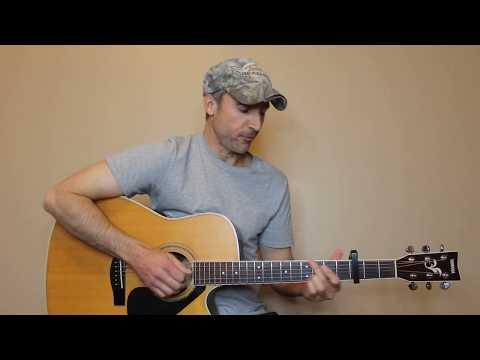 I Found Someone - Blake Shelton - Guitar Lesson | Tutorial