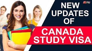 CANADA STUDY VISA NEW UPDATES