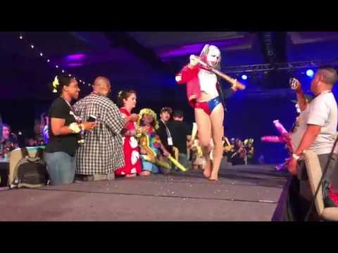 Harley Quinn - Aerial Silks Performance