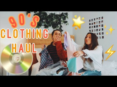 90's clothes unboxing haul! brandy melvile, romewe, & more!