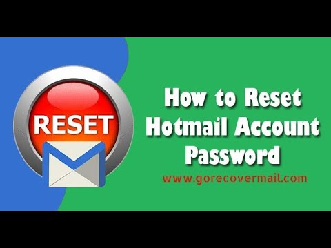Hotmail Password Reset Phone Number   Recover MSN mail ...