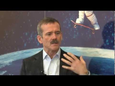 Chris Hadfield discusses life skills with Macmillan (Pt 1)