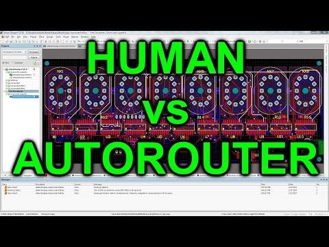 EEVblog #975 - Human vs Autorouter