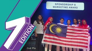 World Competition |SMKKing George V Wins Second Place