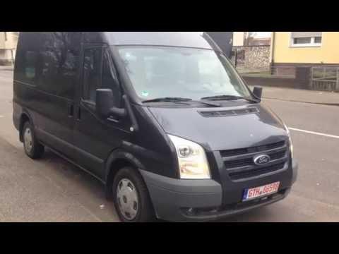 Немецкие документы при покупке автомобиля - пример Ford Transit 115T300