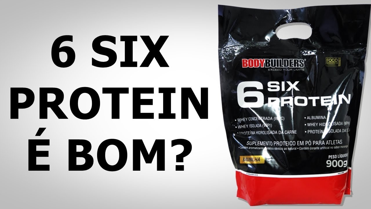 9c7a3f712d 6 Six Protein Bodybuilders É BOM  REVIEW COMPLETO - YouTube