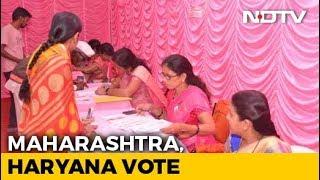Assembly Elections 2019: Advantage BJP As Voting Begins In Maharashtra, Haryana