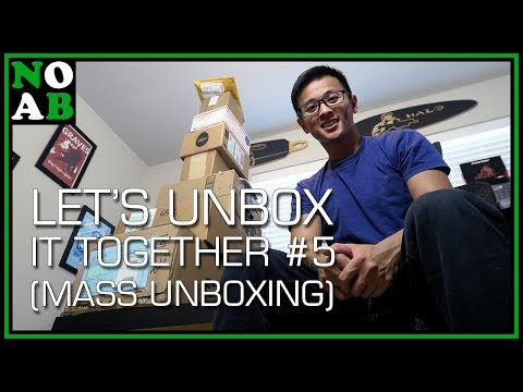 Mass PC Hardware Unboxing – Let's Unbox It Together #5