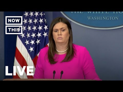 Sarah Sanders Gives White House Briefing — January 28, 2019 | NowThis