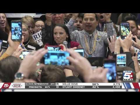 Kansas Republican Rep. Kevin Yoder loses to LGBT Native American Democrat Sharice Davids