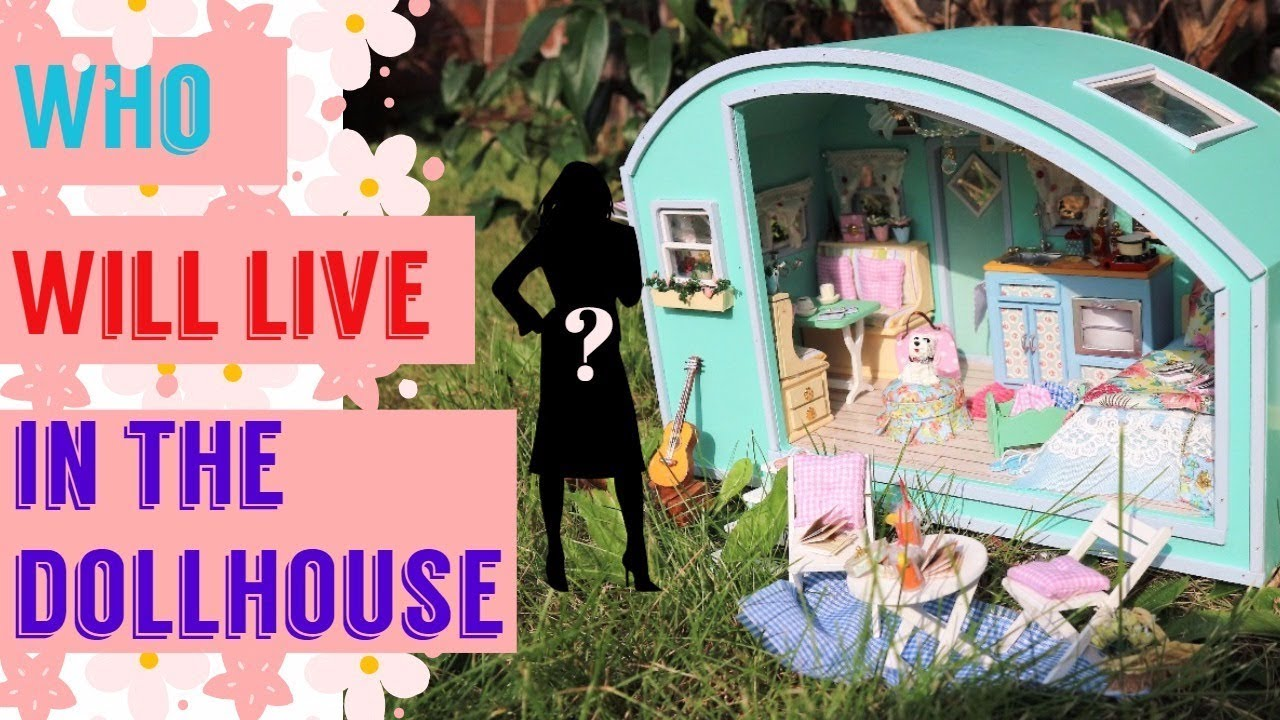 Miniature Doll Repaint - Who Will Live In The DIY Dollhouse / Handamade  Crafts Tutorial