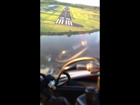 CGS Hawk Arrow II landing at Pineville, Louisiana