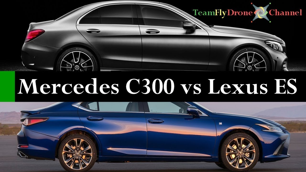 test comparativo 2019 mercedes c class vs 2019 lexus es specifiche