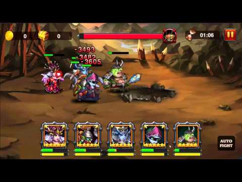 Heroes Charge - TL91 - Outland Portal - Lord of Caves - Difficulty 7 - 3 stars