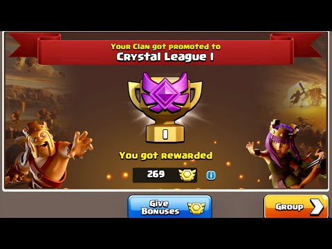FIRST Ever Clan War League Rewards | Hammers | Clash Of Clans
