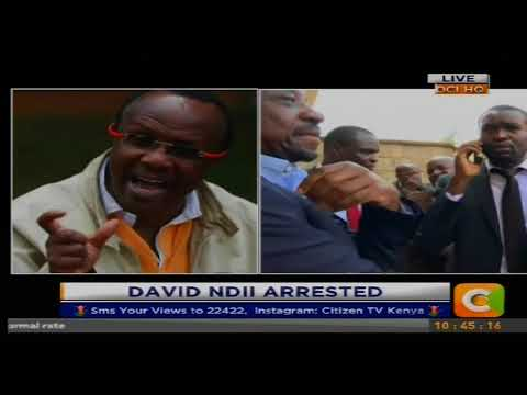 Snr Counsel James Orengo leads NASA Lawyers to demand for the release of Economist David Ndii