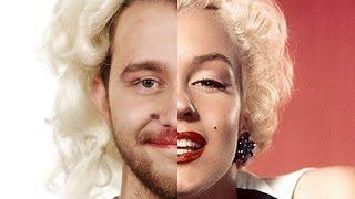 Coworkers Celebrity Makeup Challenge…Blindfolded!