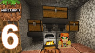 Minecraft - Lava Auto Smelter - Gameplay Walkthrough Part 6 (Android,iOS)