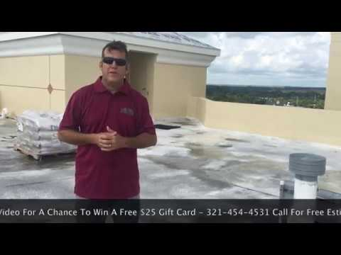 12 Story Riverfront Reroof Project | Barfield Contracting & Associates, Inc. Cocoa, Florida