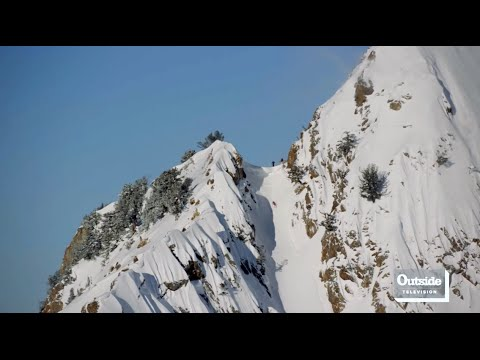 Angel Collinson Skis the Suicide Chute in Salt Lake City | Locals